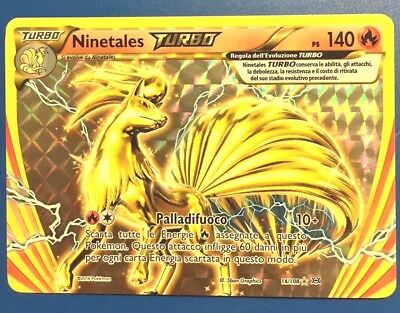 NINETALES TURBO 16/108  Carta Pokemon XY Evoluzioni italiano