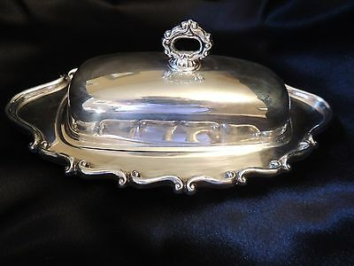 FB Rogers Silver Plate Butter Dish