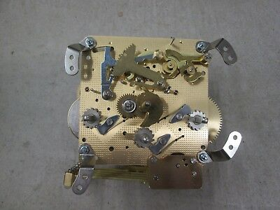 """Hermle Westminster Chime Wall Clock Movement 341-020 38.5cm in Working """"Y"""" 2012"""