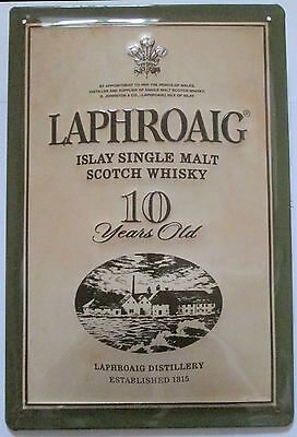 LAPHROAIG Islay Single Malt Scotch Whisky, BLECHSCHILD