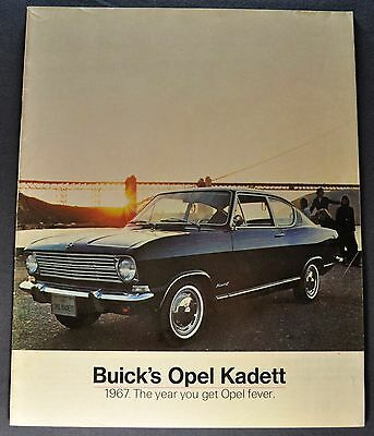 1967 Opel Kadett Catalog Sales Brochure Excellent Original 67