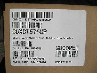 sony cdx gt570up in dash cd mp3 usb car stereo receiver w pandora Sony Cdx Gt575up Wiring Harness sony cdx gt575up ( cdxgt575up ) in dash am fm, cd, mp3 sony cdx-gt575up wiring harness