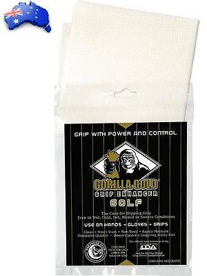 Gorilla Gold Non-Toxic Golf Grip Enhancing Reusable Towel -Hank Haney Recommend