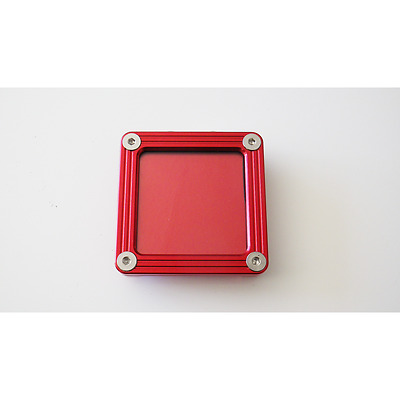 Support Vignette Insurance Flat Square Red