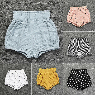 Infant Kid Baby Girls Summer Beach Shorts Bloomers Hot Pants Leisure Bottoms Pro