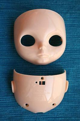 NEO BLYTHE FACE Complete, Set 2 Pieces & Screws (CARA). HASBRO, TOMY, BRAND NEW!