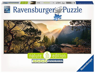 1000 Teile Ravensburger Puzzle Panorama Nature Edition Yosemite Park 15083
