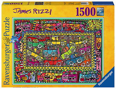 1500 Teile Ravensburger Puzzle James Rizzi We are on our way to party 16356