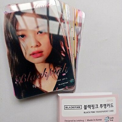 BlackPink Transparent Photocards As If Its Your Last Album Lenticular Photocard