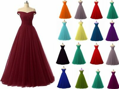 New Long Chiffon Bridesmaid Prom Dress Wedding Evening Formal Party Ball Gown