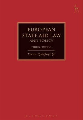 Quigley Conor-European State Aid Law And Policy  BOOKH NEW