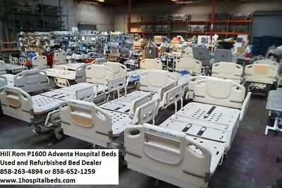 (10) Hill Rom Advanta P1600 Hospital Beds Full Electric Adjustable Package Deal