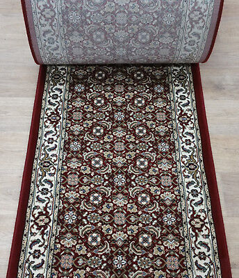 Rug Depot Traditional Hall And Stair Runner Remnants 26 Wide Red