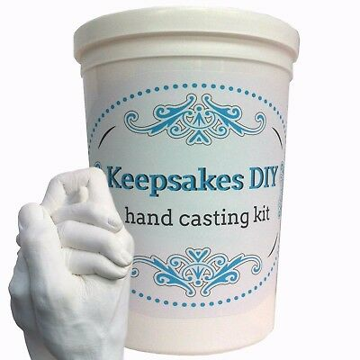Keepsakes DIY Hand Casting Kit Plaster Wedding Gift Anniversary Valentines NEW