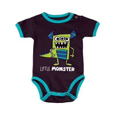 LazyOne Jungen Little Monster Babygrow Vest
