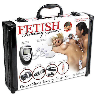 Fetish Fantasy Deluxe Shock Therapy Travel Kit Pipedream Products