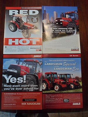 4x Case/IH Tractor Adverts 1994-99 Free UK Postage Not Brochure/leaflet