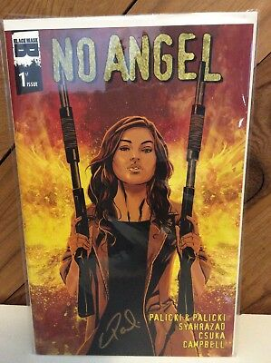 No Angel #1 Black Mask Studios. Signed By Eric Palicki.  NM Or Better
