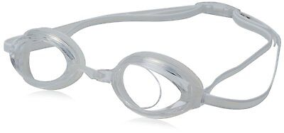 Speedo Jr. Vanquisher 2.0 Anti-Fog Swim Swimming Pool Competition Goggle, Clear