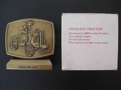 John Deere Employees Credit Union Froelich Tractor Cast Bank Fourth Edition 1981