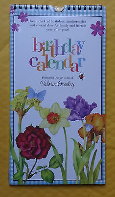 Birthday, Anniversaries, and Special Day Calendar Year After Year  FREE SHIPPING