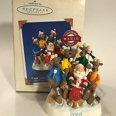 Kris and the Kringles - Hallmark Ornament - 3rd in Series  2003 - Campfire