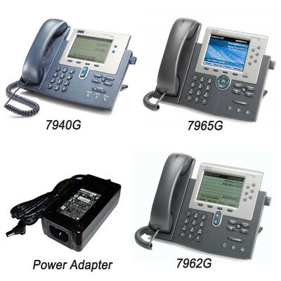 Cisco 7940G 7462G 7965G IP Phone Telephone  with SCCP Firmware