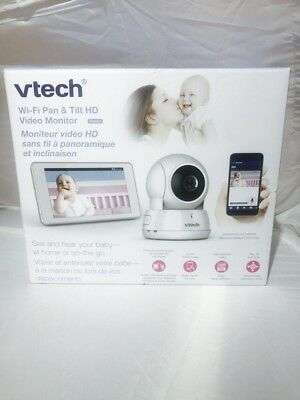 """VTech 5"""" Wi-Fi Baby Monitor with Zoom/Pan/Tilt (VM991) New"""