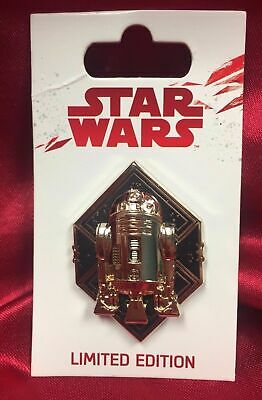 Disney Parks Star Wars The Last Jedi Force Friday R2D2 Limited Edition R2-D2 Pin