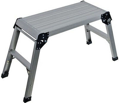 Builders Step Up Ladder Platform Hop Up Work Stool Bench 500Mm 150Kg U88