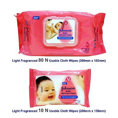 Johnson's Baby Skincare Wipes Soft touch for your baby, free shipping worldwide