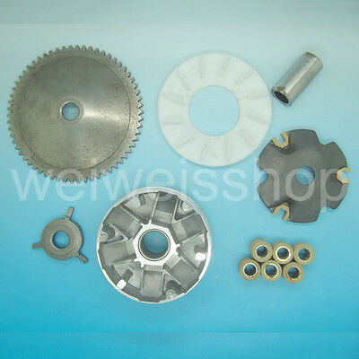 Variator Assy for Chinese GY6 49cc 50cc 139QMB 139QMA Baotian Kingway Clutch kit