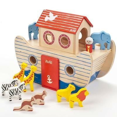 NEW Baby Clothing, Gifts and Accessories Indigo Jamm - Noah's Wooden Ark