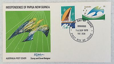 1975 Independence of Papua New Guinea FDC
