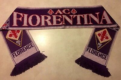 Serie A Italian club Fiorentina FC supporter scarf Acrylic 1 size fits all