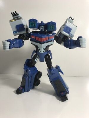 Ultra Magnus TRANSFORMERS Animated 2008 Hasbro Leader Class figure WORKS assault