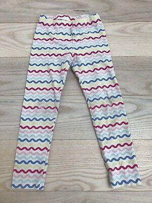 Gymboree Toddler Girls Multicolor Wavy Long Pants Leggings Bottoms Size 4T