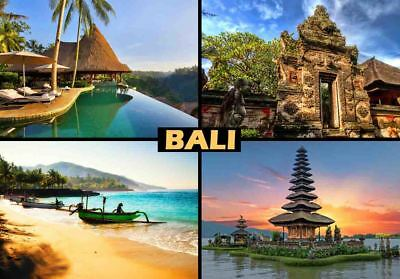 BALI TRAVEL SOUVENIR FRIDGE MAGNET #fm314