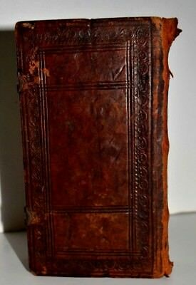 1546 Bible Basel leaf Large  Amazing rare book Judaica Hebrew Latin antique WOW
