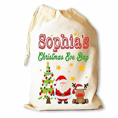 Personalised Christmas Eve gift bag for those that can't wait for Santa