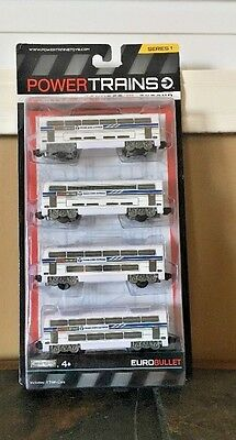 New Power City Trains  Euro Bullet Classic 4 pack