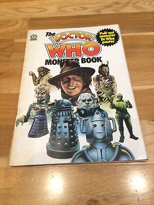 The Doctor Who Monster Book - Vintage 1975