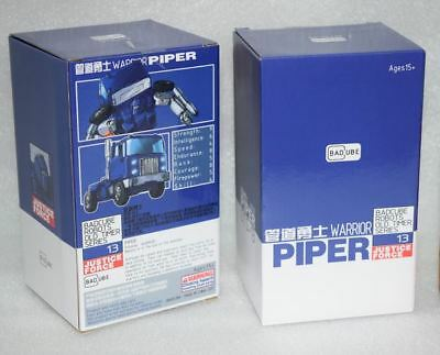 New Transformers BadCube Toy OTS-13 Warrior Piper Pipes Figure In Stock