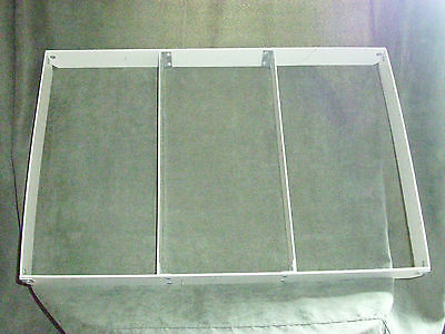 "Toteline 3 Section Full Size Cake Pan Extender Divided Width-2"" High 18"" X 26"""