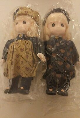 Pair of Classic Collectible Precious Moments Dolls
