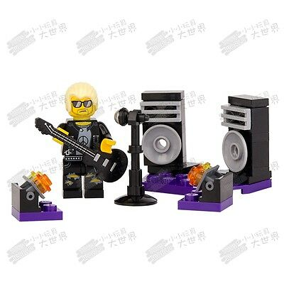 CS 3 Custom minifigure - Street Singer Band Guitar Pop Star Rapper