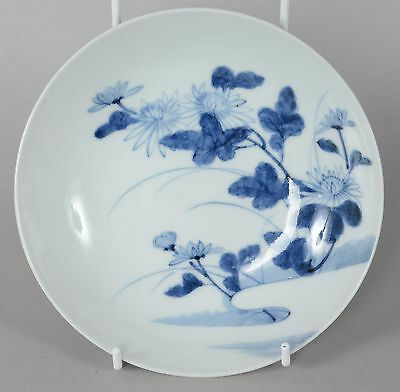 Antique Japanese Blue White Porcelain Bowl Ex Morrison Collection