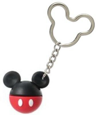 Disney Icon Mickey Mouse Body Soft Touch Laser Lasercut Keyring Keychain