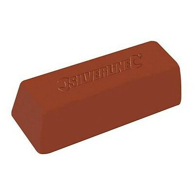 BROWN POLISHING COMPOUND FIRST STAGE 500 G GRAM Buffing Soap Metal Wax Bar P252