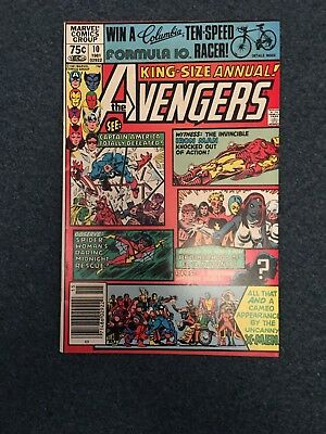 Avengers  King Size Annual #10 Very Fine
